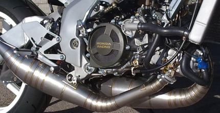 NSR250 Exploded Engine